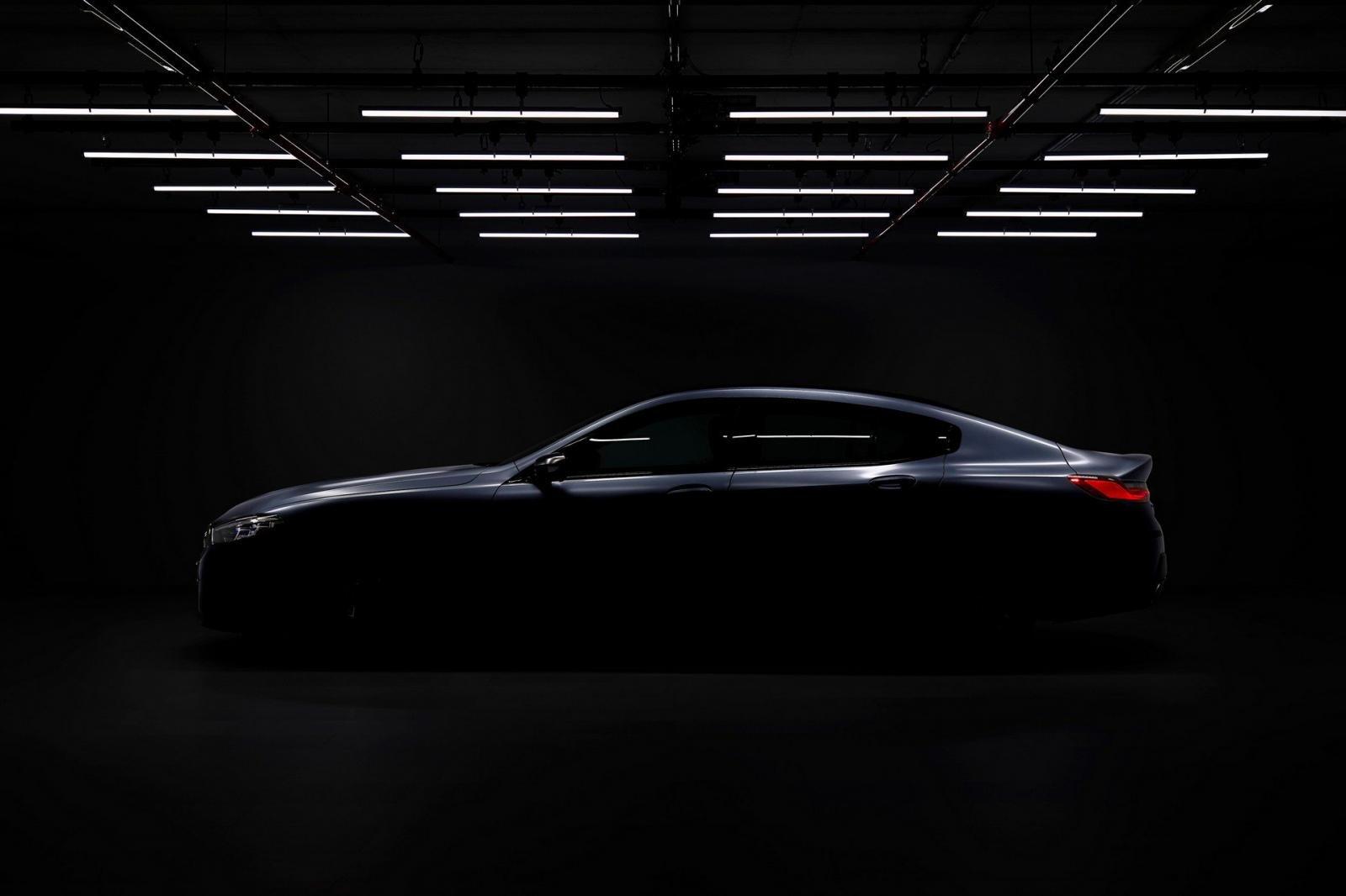 BMW 8 Series Gran Coupe bất ngờ lộ ảnh nóng 3