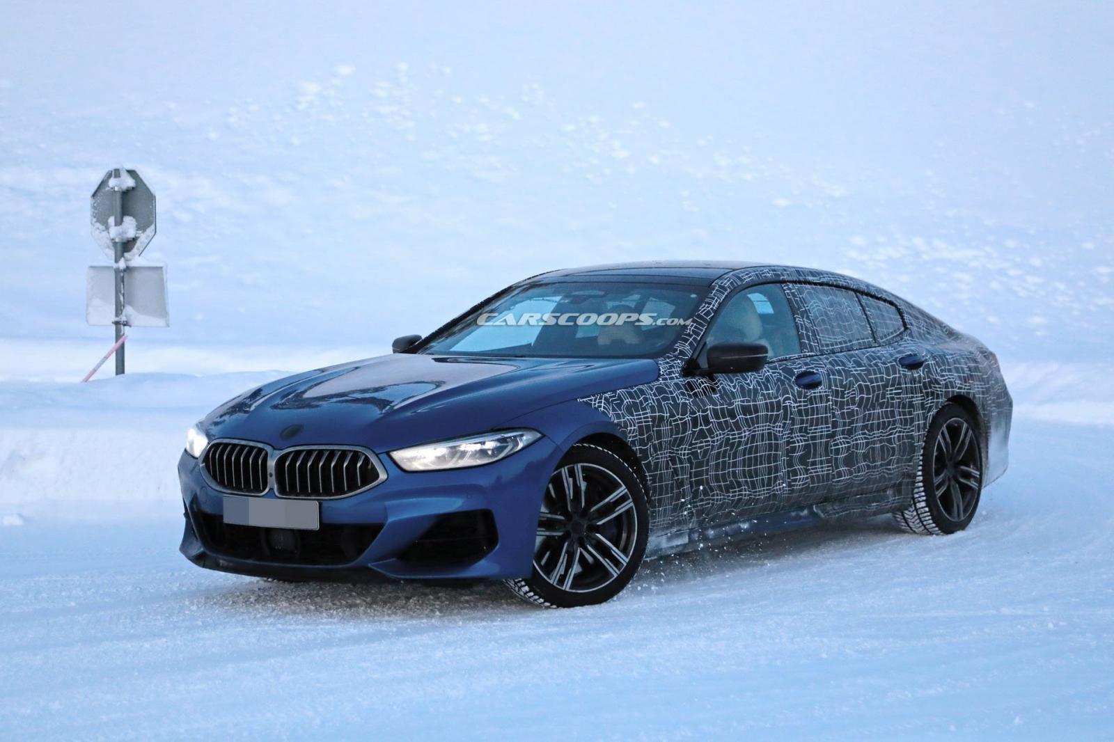 BMW 8 Series Gran Coupe bất ngờ lộ ảnh nóng.
