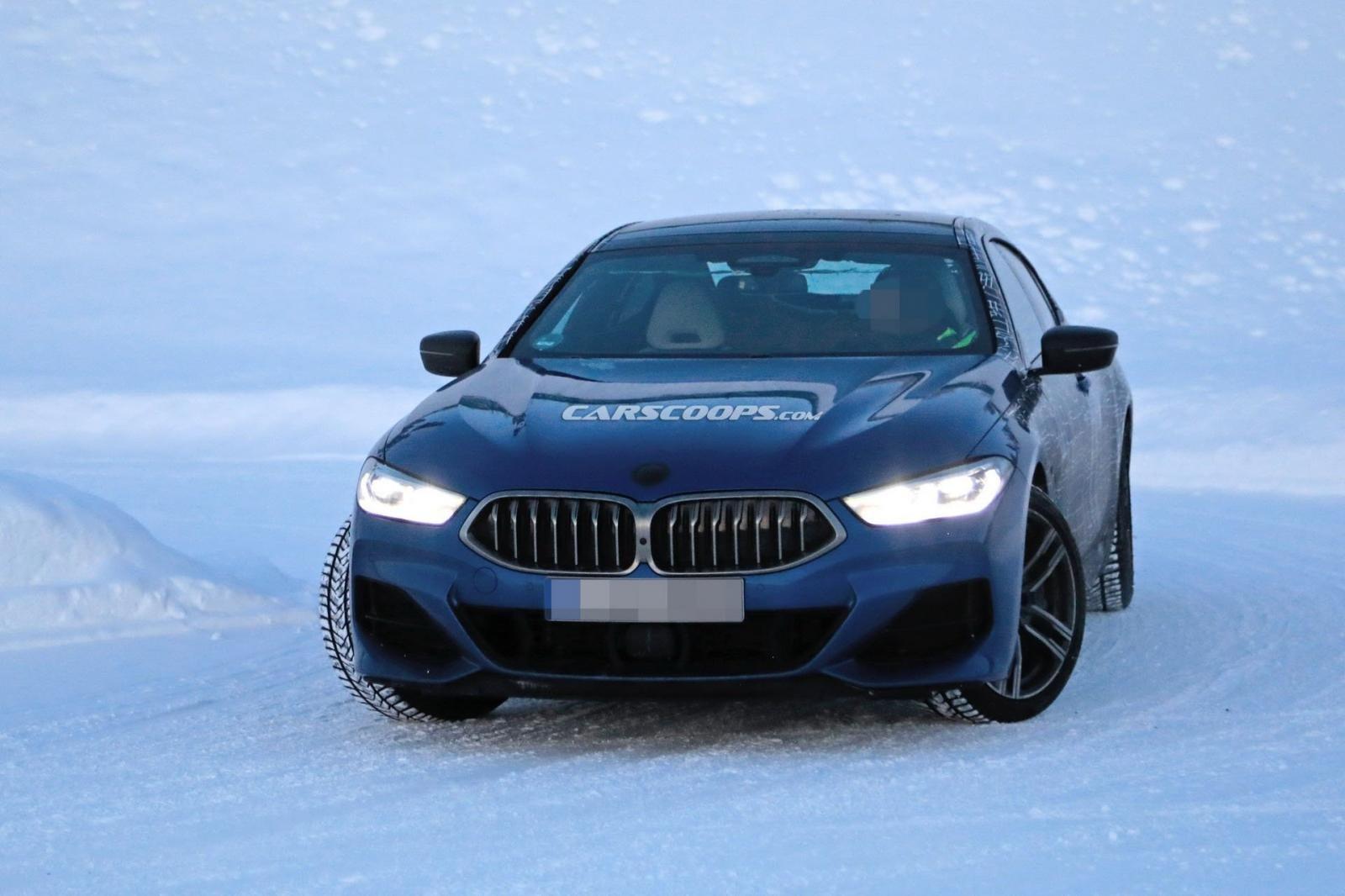 BMW 8 Series Gran Coupe bất ngờ lộ ảnh nóng 5