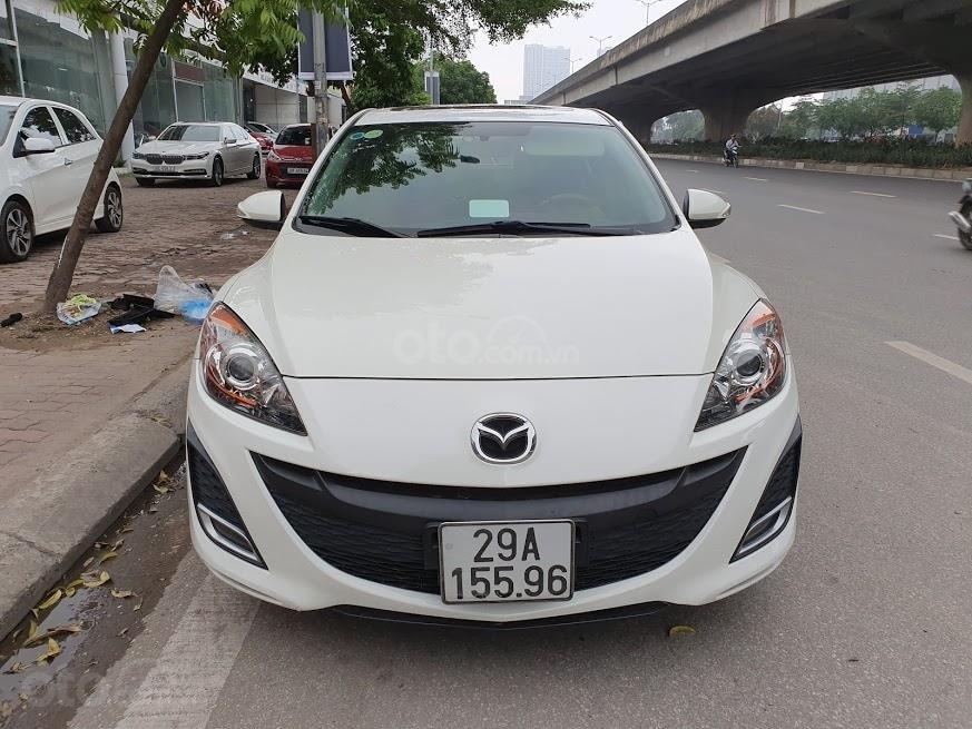 Bán ô tô Mazda 3 1.6AT sedan SX 2011, màu trắng, nhập khẩu, giá 435tr-0
