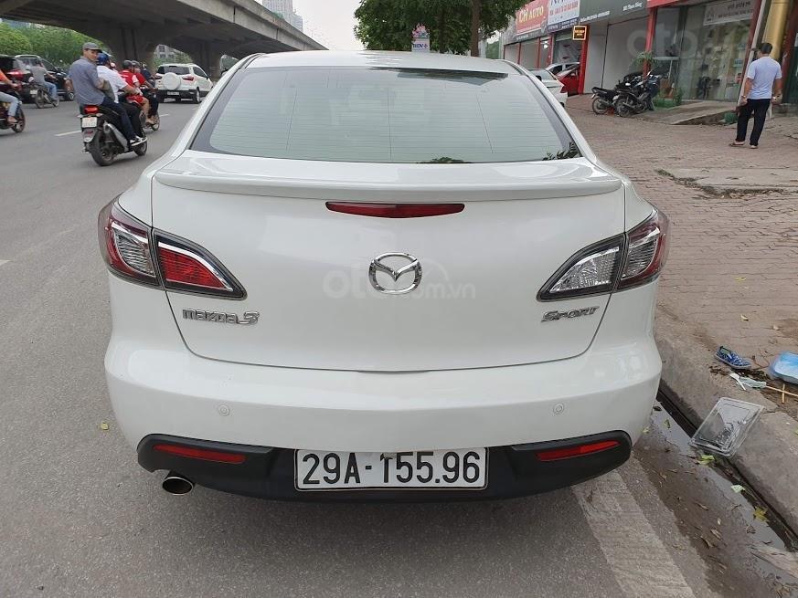 Bán ô tô Mazda 3 1.6AT sedan SX 2011, màu trắng, nhập khẩu, giá 435tr-6