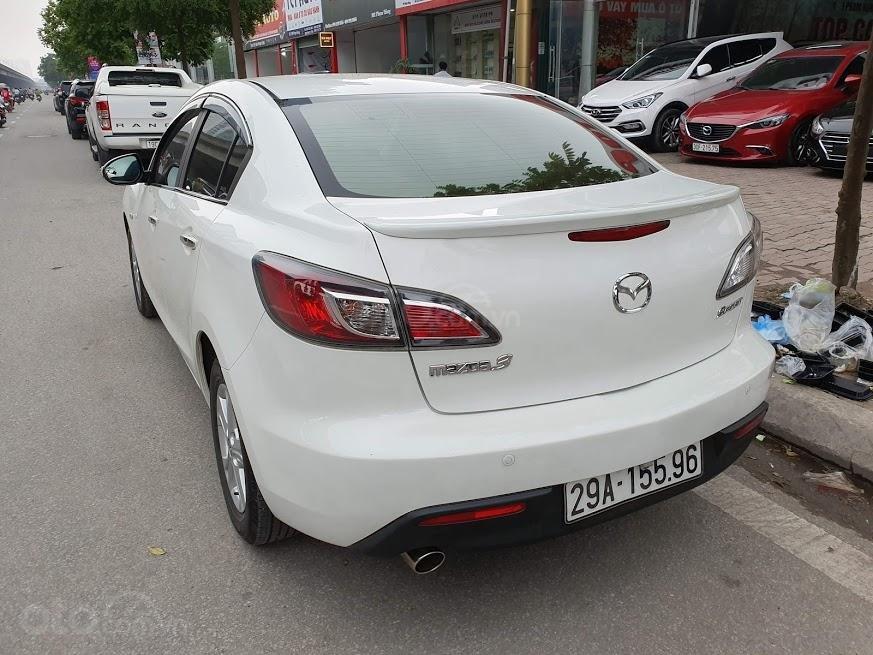 Bán ô tô Mazda 3 1.6AT sedan SX 2011, màu trắng, nhập khẩu, giá 435tr-7