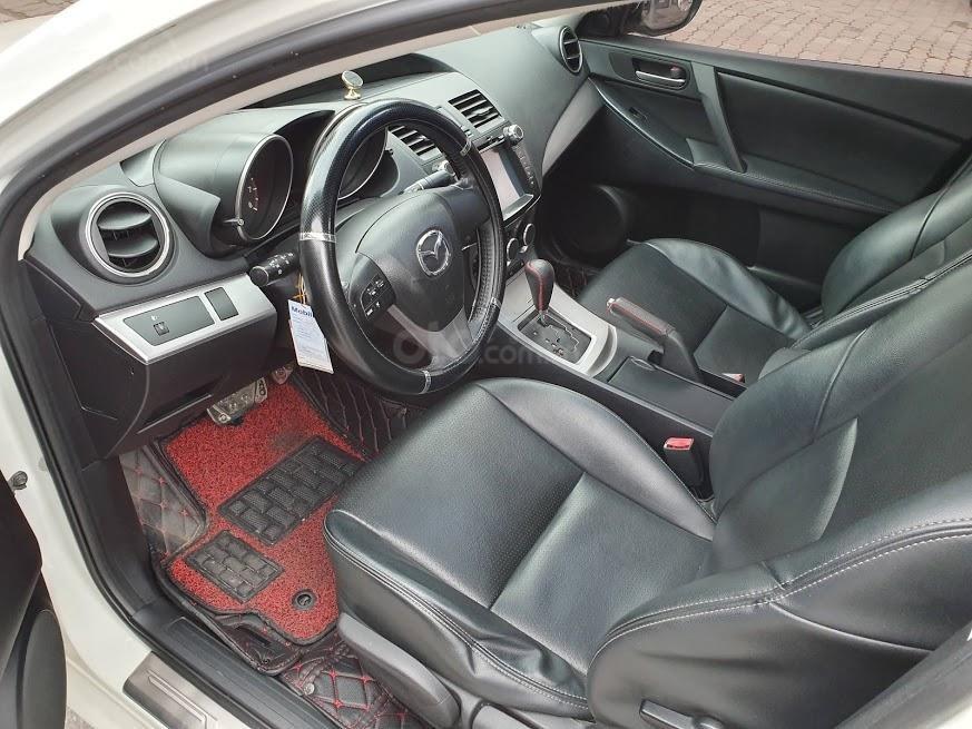 Bán ô tô Mazda 3 1.6AT sedan SX 2011, màu trắng, nhập khẩu, giá 435tr-3