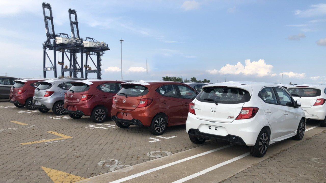 Honda Brio 2019 tràn ngập cảng Việt Nam, chờ ngày ra mắt a1