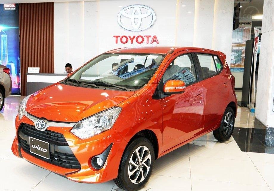 Bán Toyota Wigo 2019 nhập khẩu, trả góp 85%, lãi suất thấp, chỉ cần 130 triệu quà tặng hấp dẫn-0
