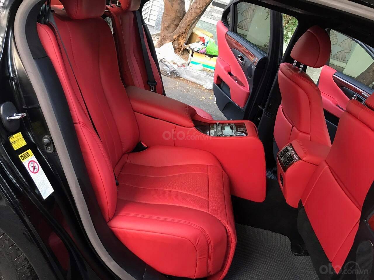 Bán Lexus LS460L sản xuất 2007 lên model 2016 màu đen nội thất đỏ-9