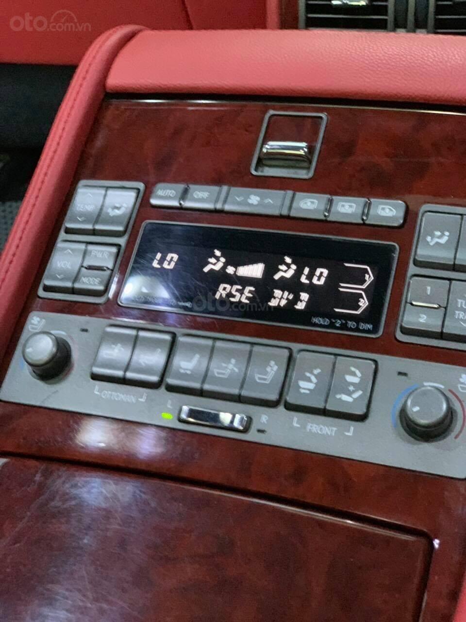 Bán Lexus LS460L sản xuất 2007 lên model 2016 màu đen nội thất đỏ-13