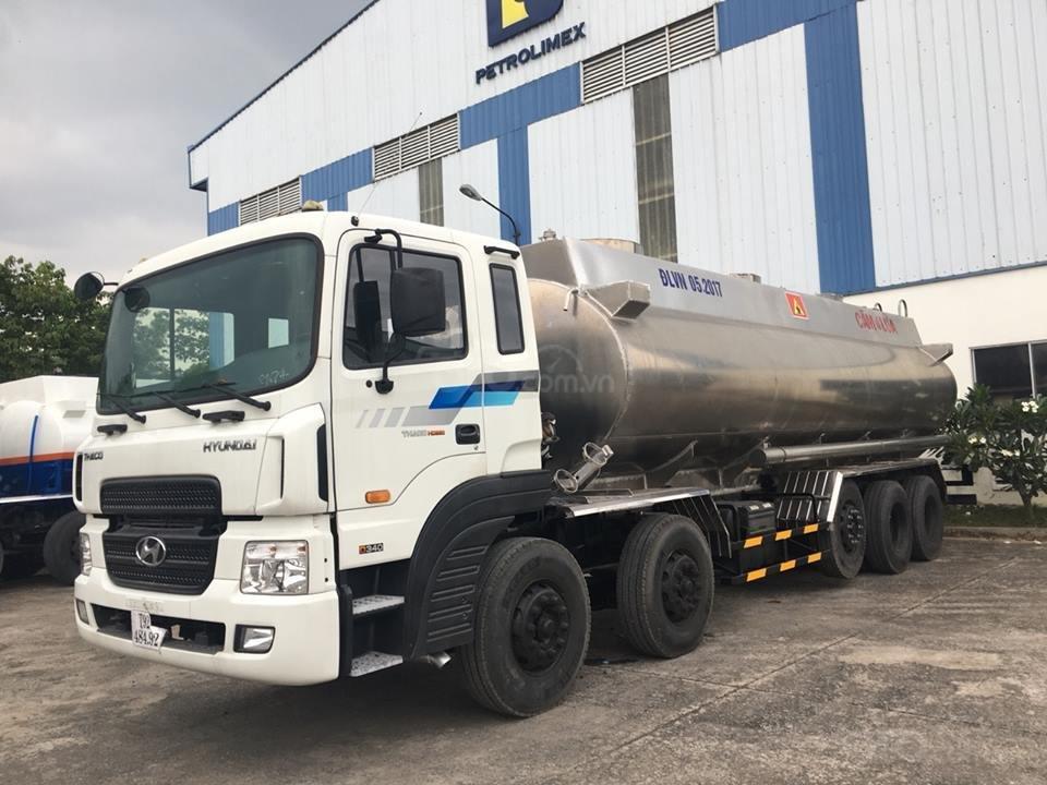 Xe bồn Hyundai HD360 - 28 Khối - Chuyên chở xăng dầu, hóa chất, chất lỏng công nghiệp-0