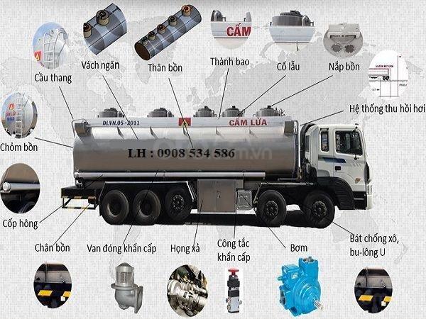 Xe bồn Hyundai HD360 - 28 Khối - Chuyên chở xăng dầu, hóa chất, chất lỏng công nghiệp-2