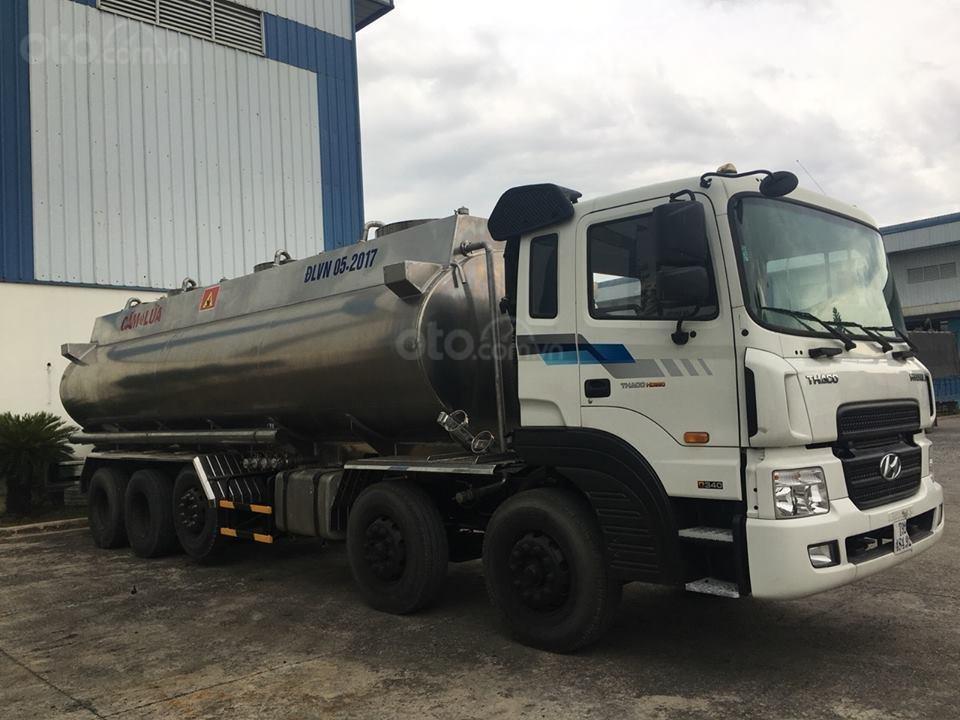 Xe bồn Hyundai HD360 - 28 Khối - Chuyên chở xăng dầu, hóa chất, chất lỏng công nghiệp-3