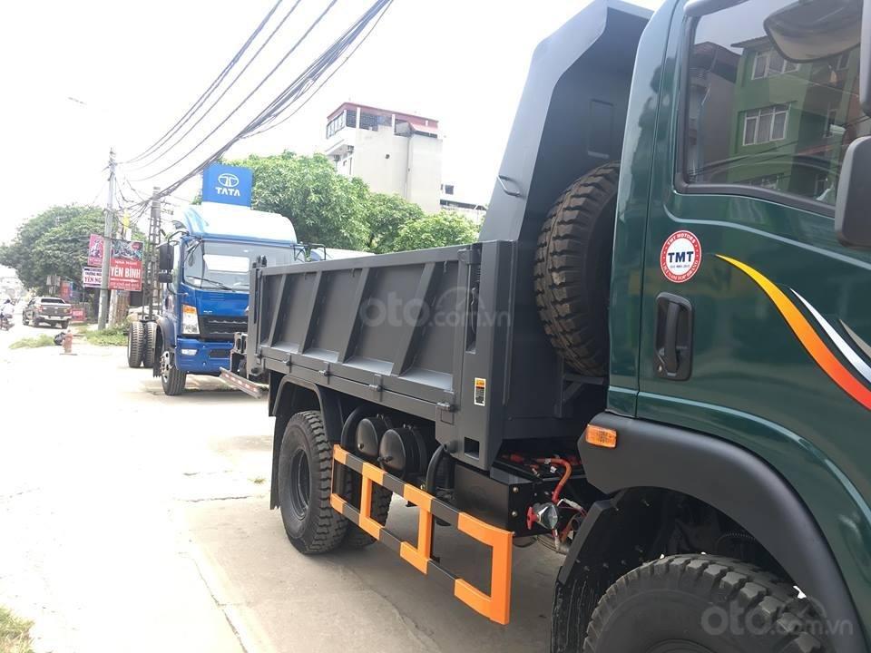 Xe Ben TMT 5 tấn 2 cầu đời mới - Cùng các bác tài chinh phục mọi nẻo đường-1