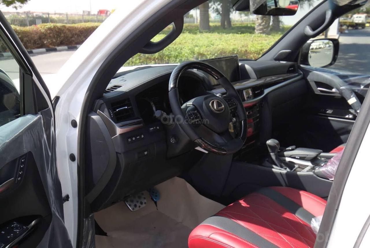 Cần bán xe Lexus LX 570 Black Edition S sản xuất năm 2019, phiên bản giới hạn, màu trắng nhập khẩu nguyên chiếc-5