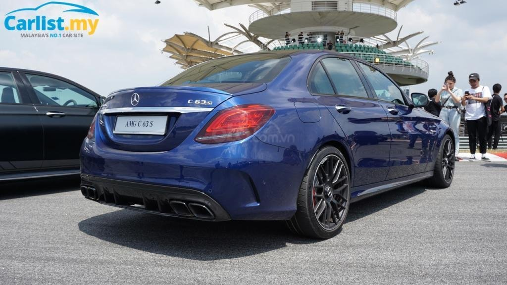 Mercedes-AMG C63S mới đến tay người dùng Malaysia