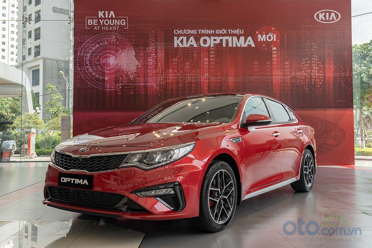 Đánh giá xe Kia Optima 2019.