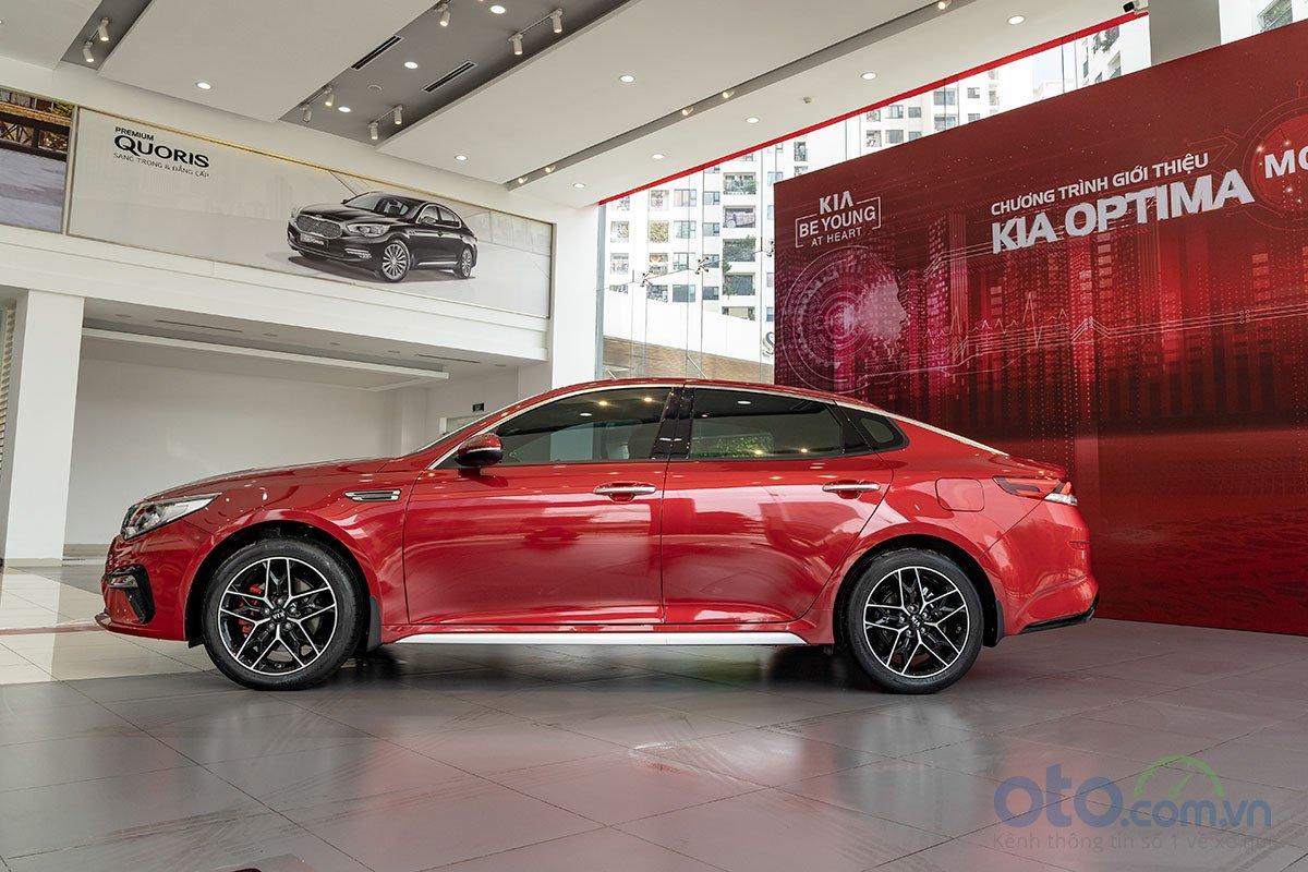 Đánh giá xe Kia Optima 2019: Thân xe không thay đổi.