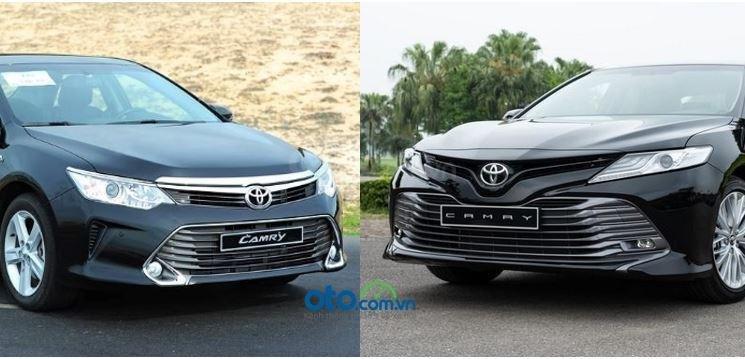 So sánh Toyota Camry 2.5Q thế hệ mới và thế hệ cũ tại Việt Nam...