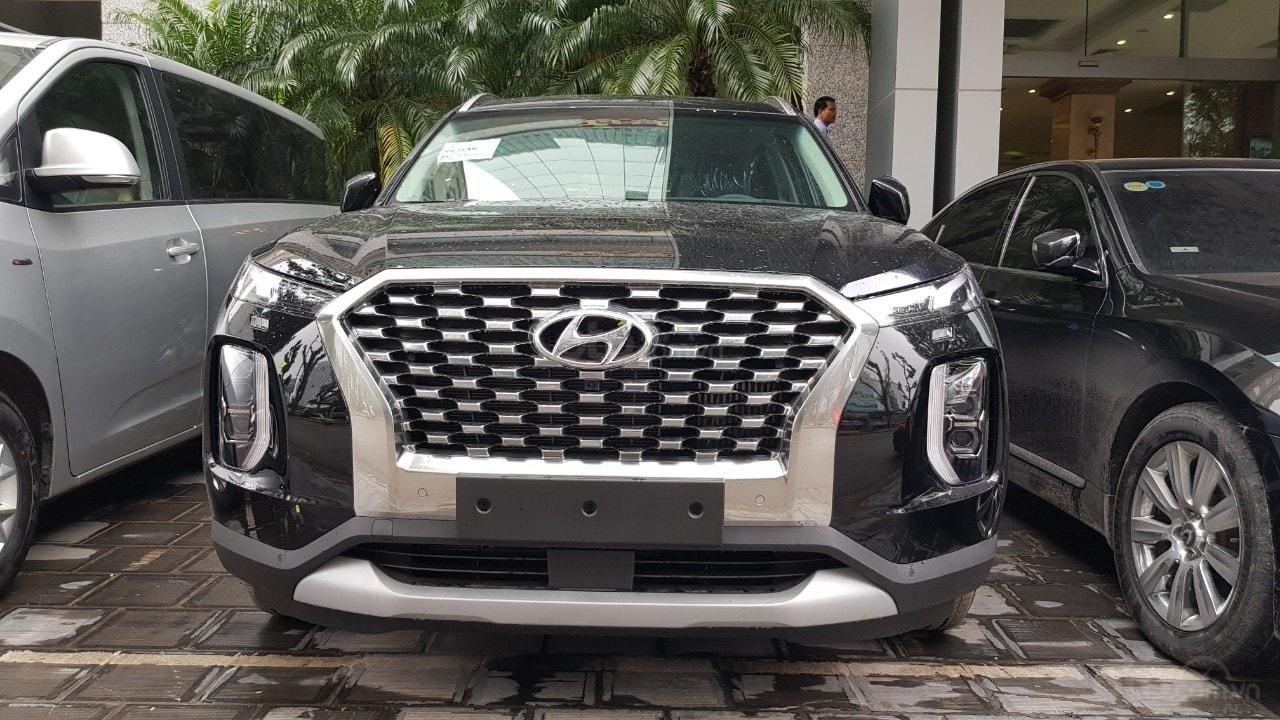 Hyundai Palisade 2019 bất ngờ về Việt Nam, SUV cỡ lớn có thêm lựa chọn a2