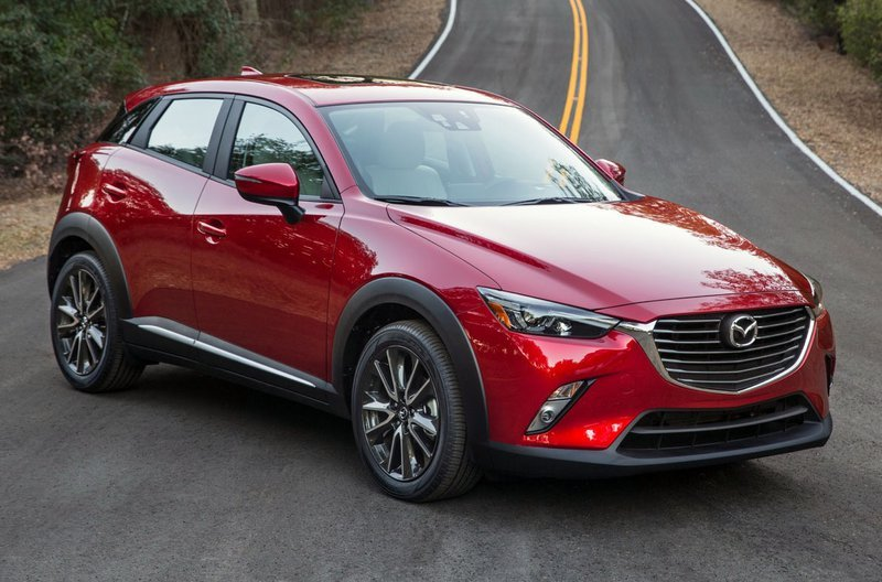 Mazda CX-3 2019 màu đỏ