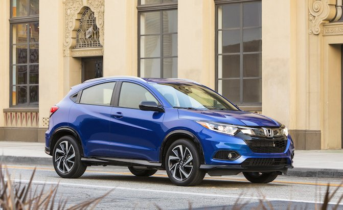 Honda HR-V 2091 màu xanh hệ dẫn động AWD