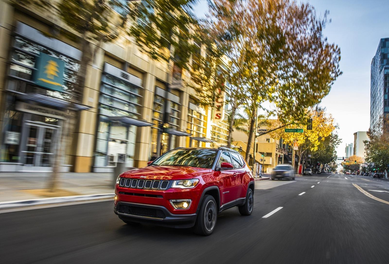 Jeep Compass AWD 2019 màu đỏ