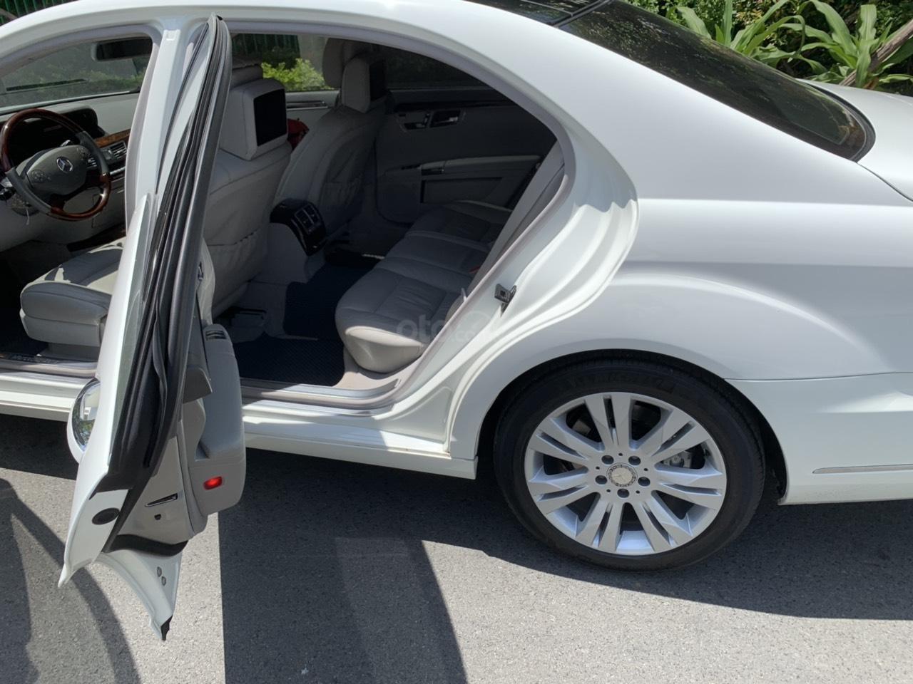 Mercedes S400 Hybrid 2012 nhập khẩu màu trắng, nội thất kem-7