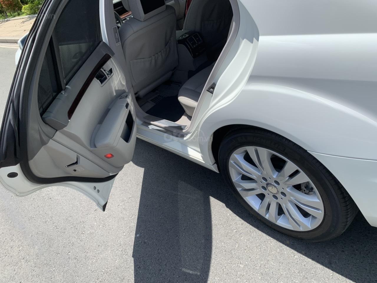 Mercedes S400 Hybrid 2012 nhập khẩu màu trắng, nội thất kem-14