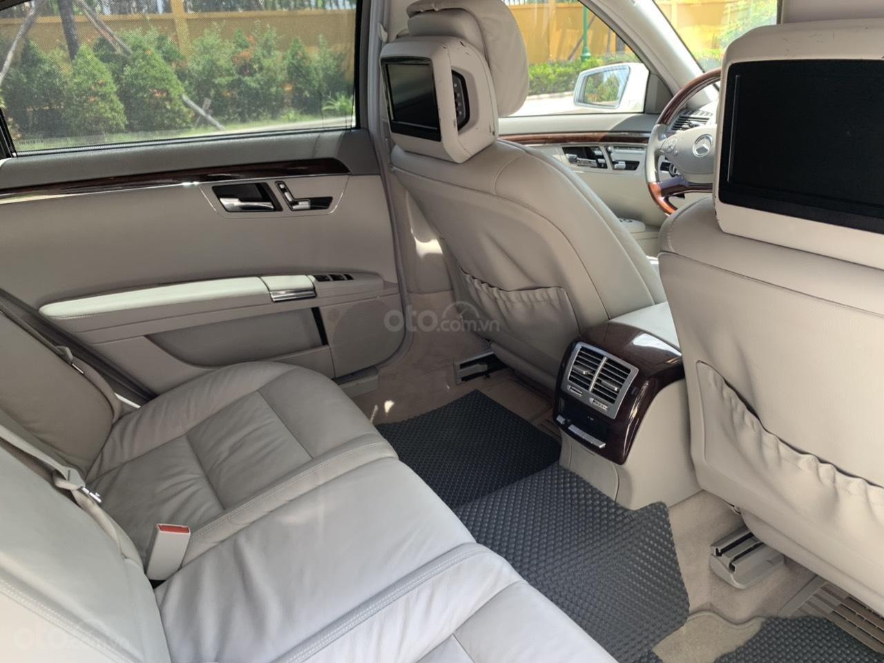 Mercedes S400 Hybrid 2012 nhập khẩu màu trắng, nội thất kem-12