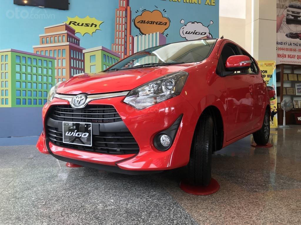 Bán xe Toyota Wigo 2019 mới 100%, xe nhập Indonesia, thanh toán 130tr nhận xe ngay-0