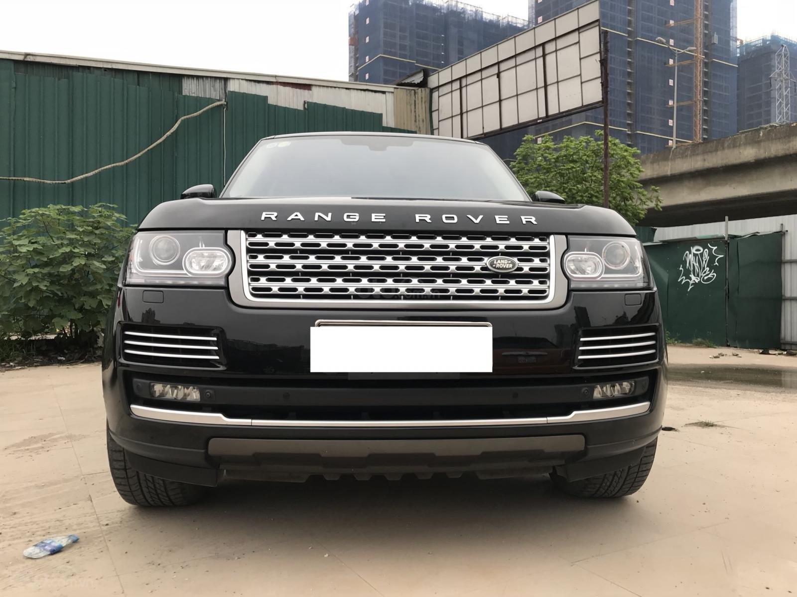 Bán LandRover Range Rover Autobiography LWB sản xuất 2014, màu đen, nhập khẩu nguyên chiếc-0