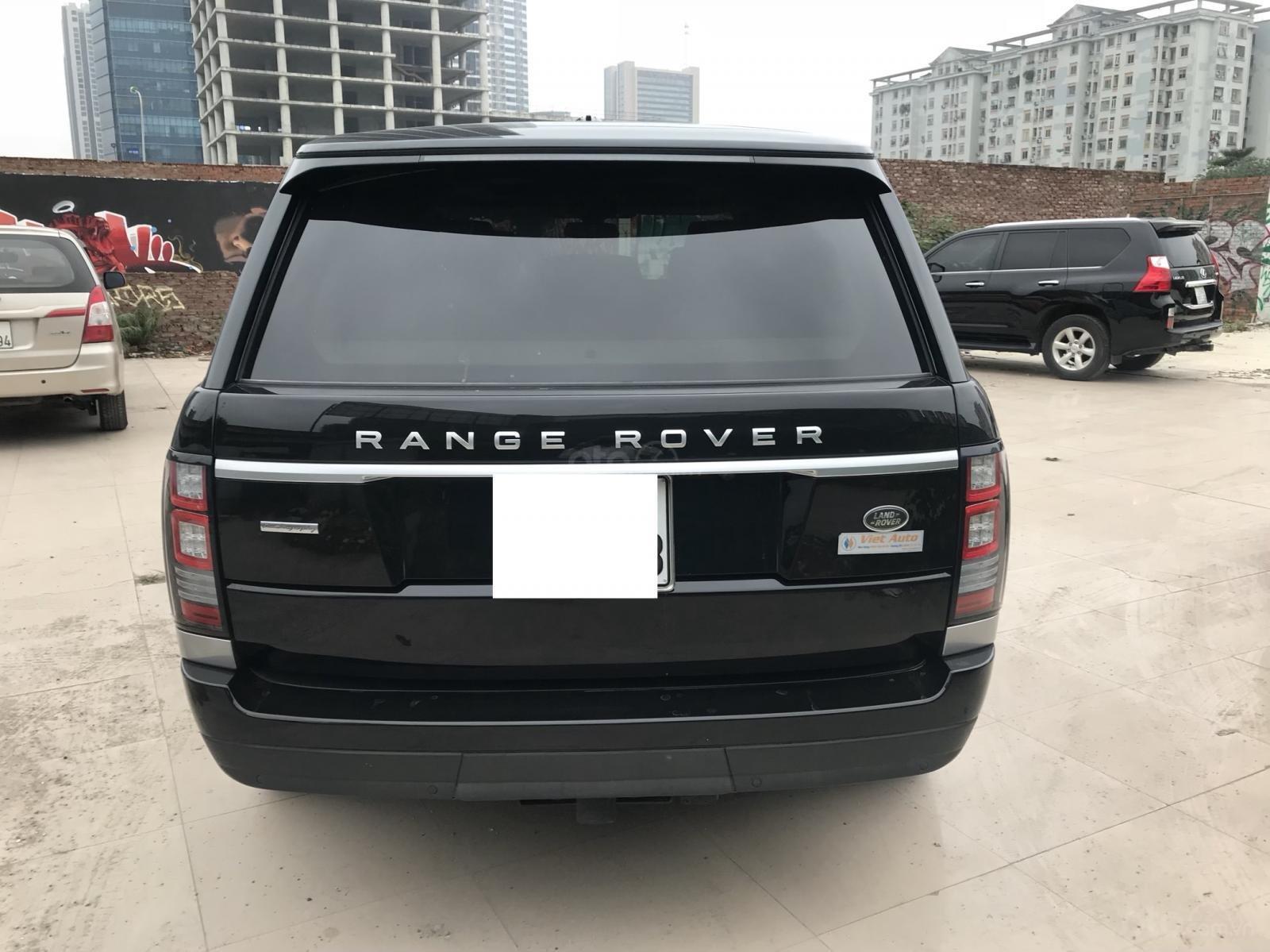 Bán LandRover Range Rover Autobiography LWB sản xuất 2014, màu đen, nhập khẩu nguyên chiếc-3