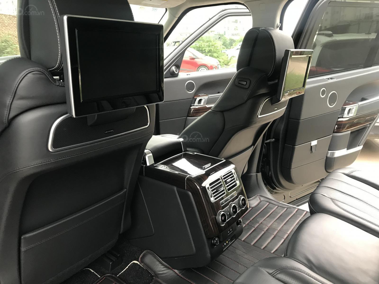 Bán LandRover Range Rover Autobiography LWB sản xuất 2014, màu đen, nhập khẩu nguyên chiếc-5