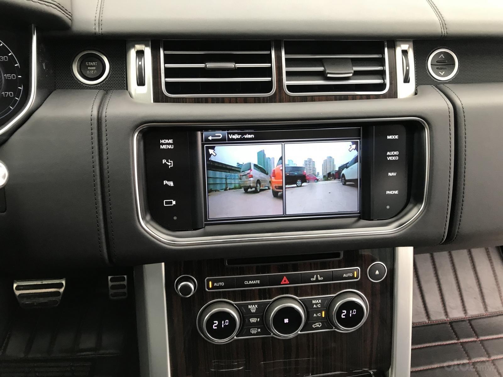 Bán LandRover Range Rover Autobiography LWB sản xuất 2014, màu đen, nhập khẩu nguyên chiếc-8