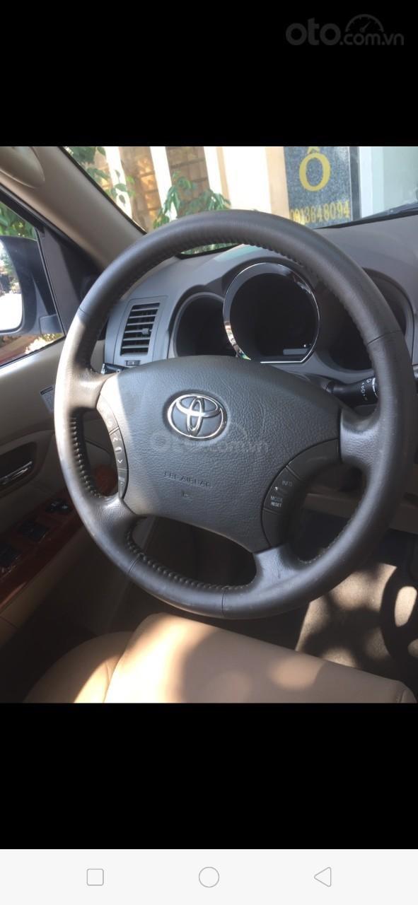 Bán Toyota Fortuner SUV đời 2010, màu bạc-1