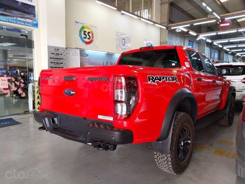 Bán Ford Ranger Raptor 2019, nhập khẩu nguyên chiếc, giá rẻ nhất miền Bắc, đủ màu giao ngay tặng full PK, LH 0974286009 (4)