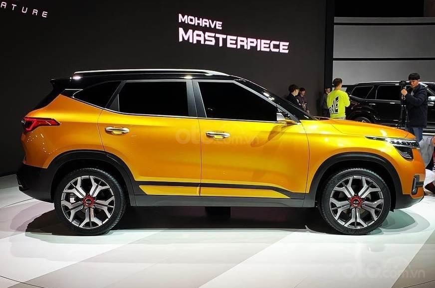 Phiên bản sản xuất của Kia SP Concept liệu vẫn bắt mắt như bản Concept?