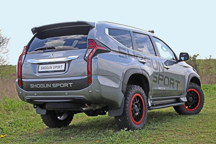 Lộ diện Mitsubishi Pajero Sport bản cực chất mới a2.