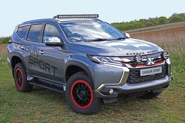 Lộ diện Mitsubishi Pajero Sport bản cực chất mới a1.