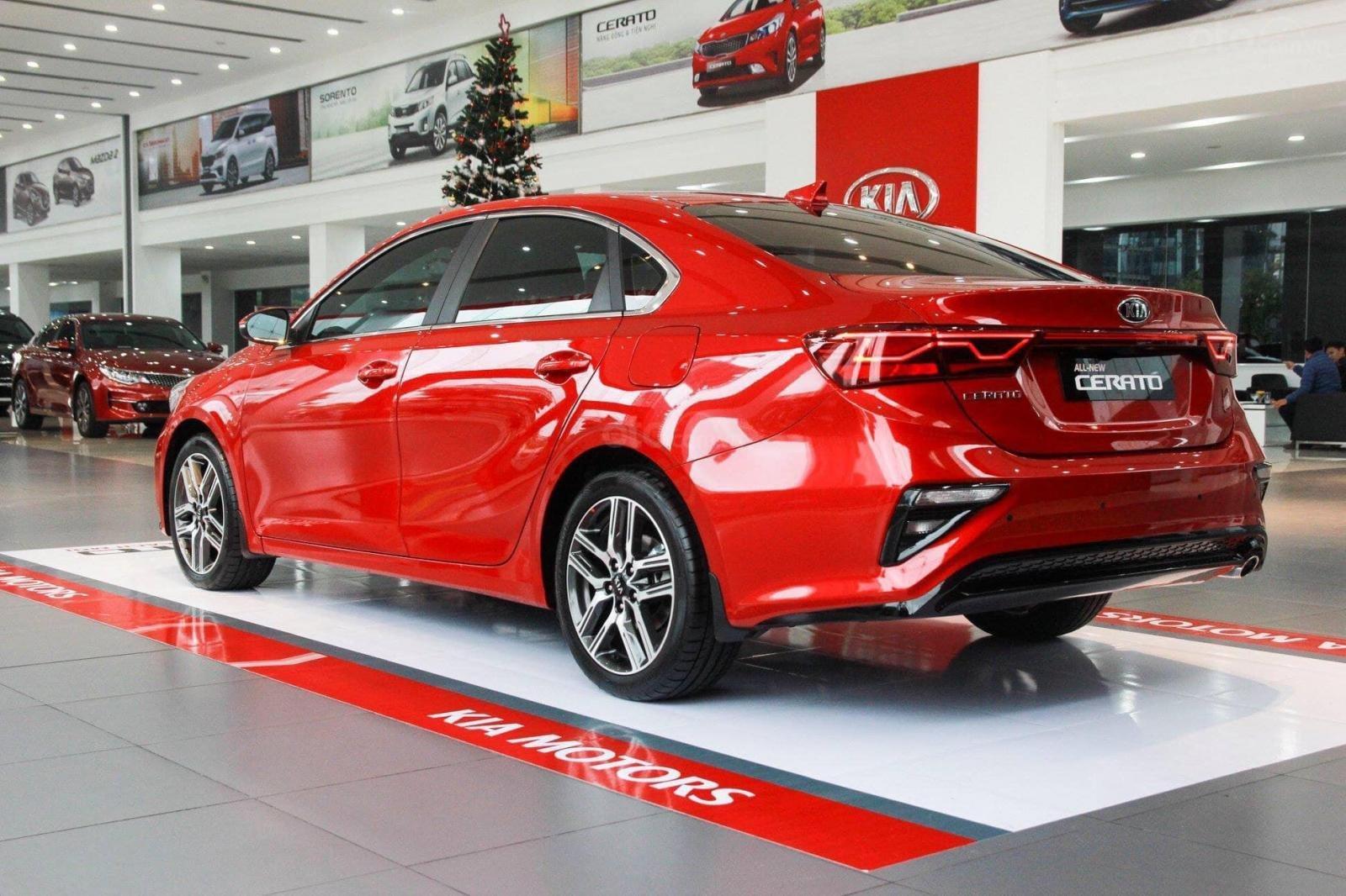 Cần bán Kia Cerato Premium sản xuất năm 2019, màu đỏ-8