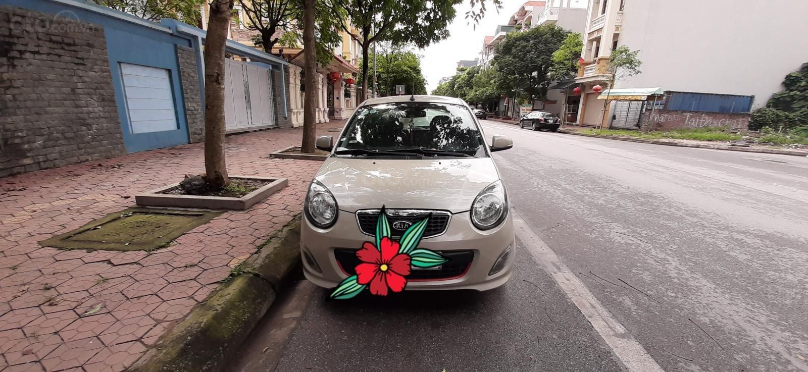 Bán Kia Morning SLX sản xuất 2010, màu bạc-0