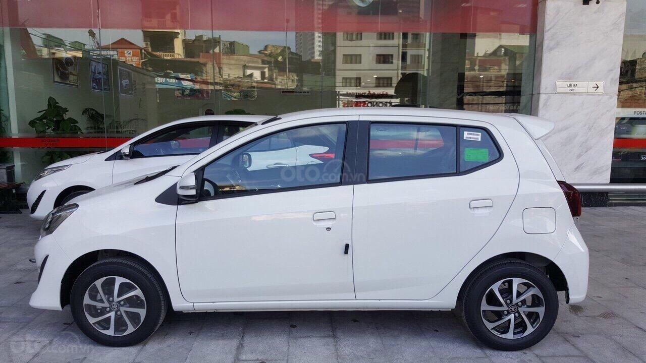 Toyota Wigo 1.2 2019, màu trắng, đỏ, cam, bạc, đen, nhập khẩu nguyên chiếc, giao ngay, khuyến mại hấp dẫn tháng 4,5-0