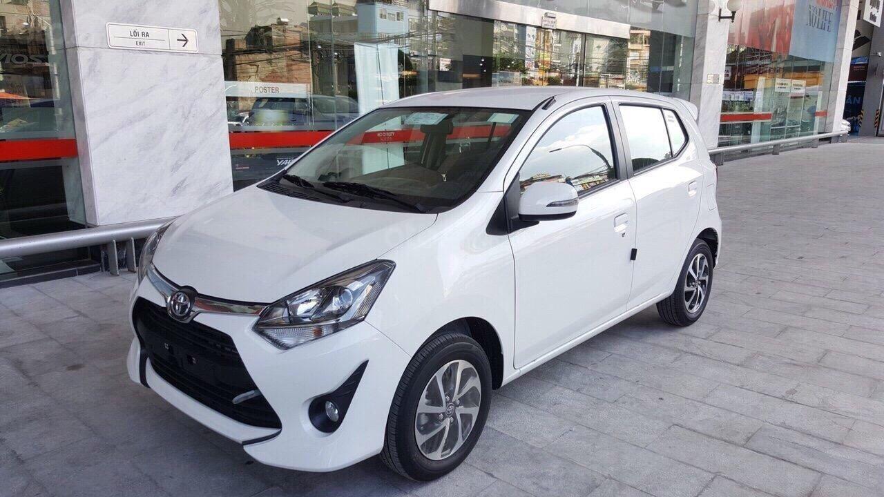 Toyota Wigo 1.2 2019, màu trắng, đỏ, cam, bạc, đen, nhập khẩu nguyên chiếc, giao ngay, khuyến mại hấp dẫn tháng 4,5-2