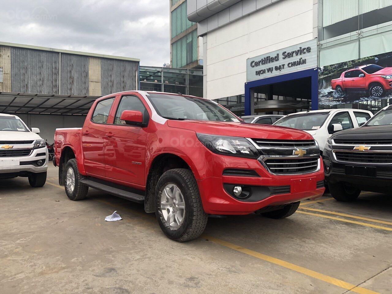Bán Chevrolet Colorado 2.5L 4x4 AT LTZ, sản xuất năm 2018, giá 789tr, xe mới 100%, giao ngay-0