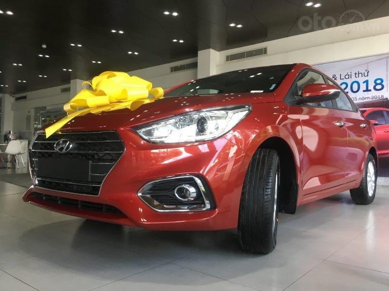 Hyundai Accent 1.4 AT - giá ưu đãi - nhiều khuyến mãi - giao xe đủ màu - chỉ từ 130tr nhận xe - LH 0909862412-9