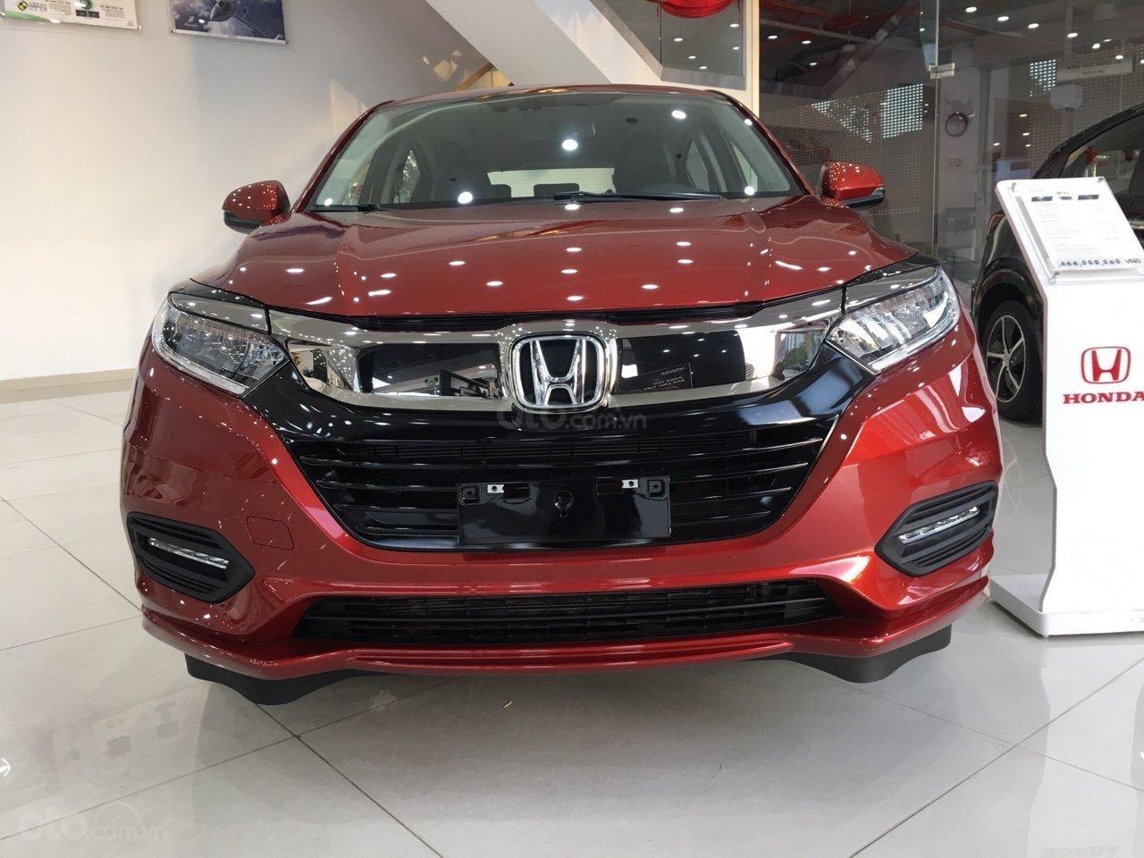 Bán Honda HR-V L năm 2019, màu đỏ, nhập khẩu-6