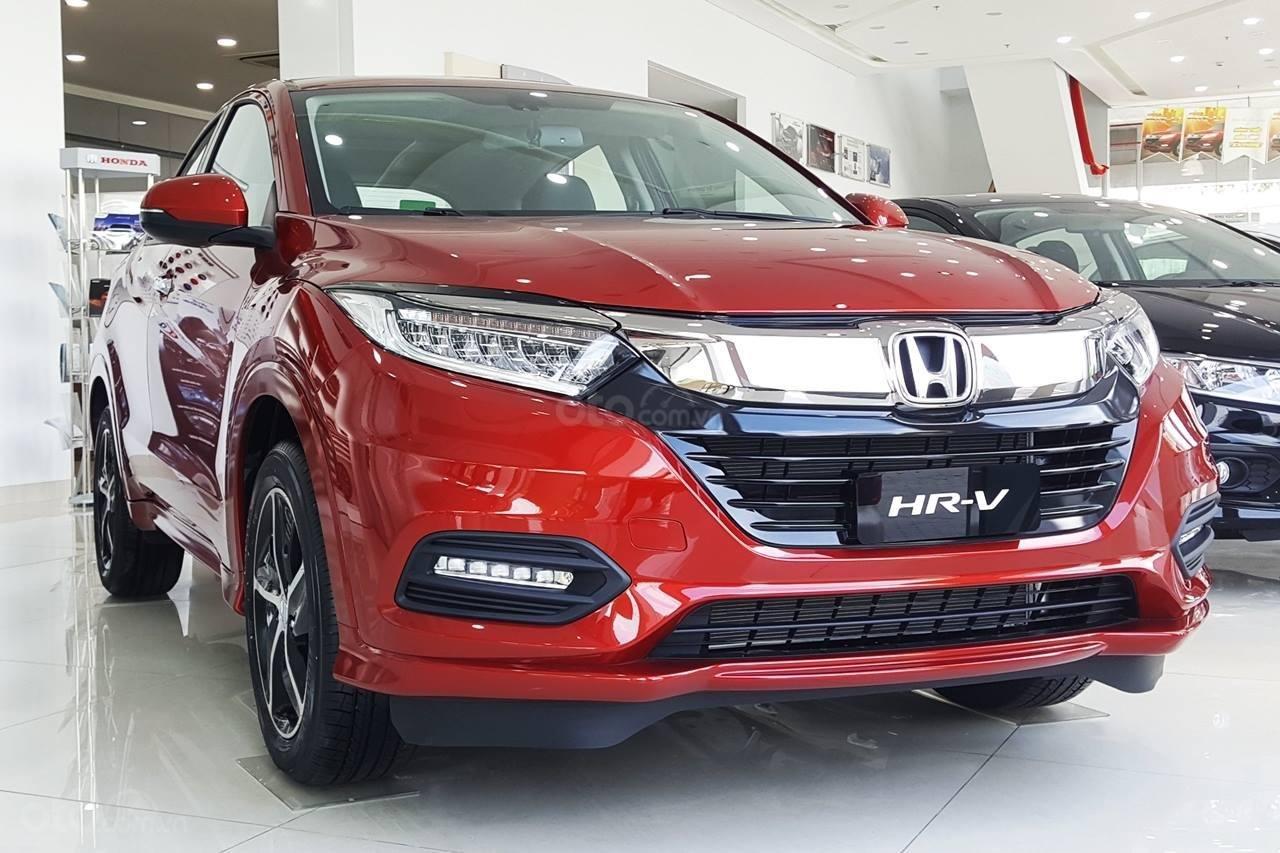 Bán Honda HR-V L năm 2019, màu đỏ, nhập khẩu-0