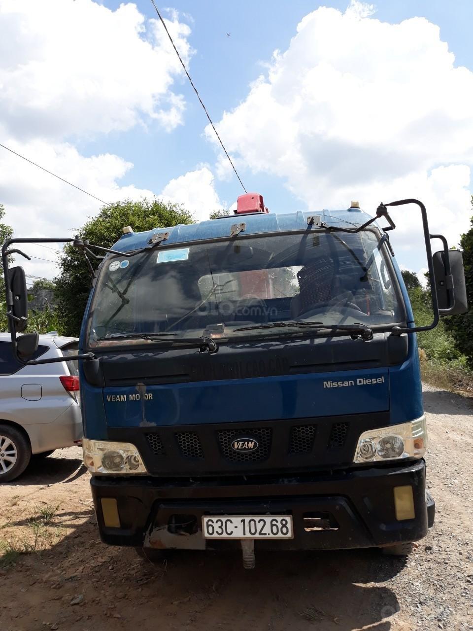 Ngân hàng thanh lý xe tải có cẩu Veam VT650MB (2)