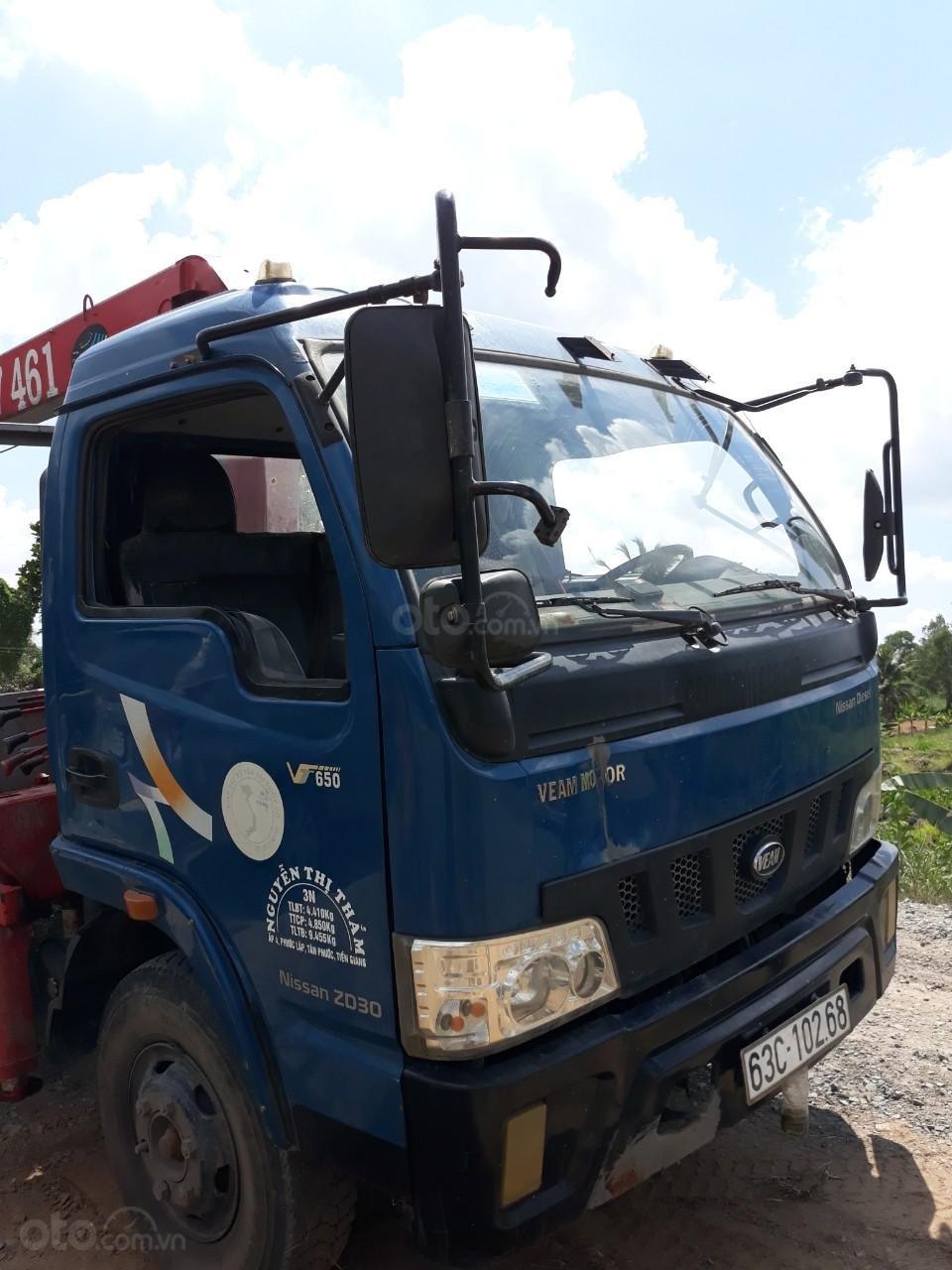 Ngân hàng thanh lý xe tải có cẩu Veam VT650MB (1)