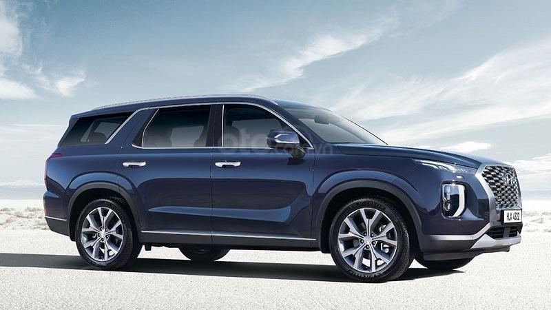 Thiết kế thân xe Hyundai Palisade...
