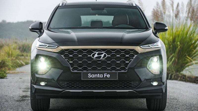 Nhìn nhanh thông số xe Hyundai Palisade và Santa Fe 2019 a3