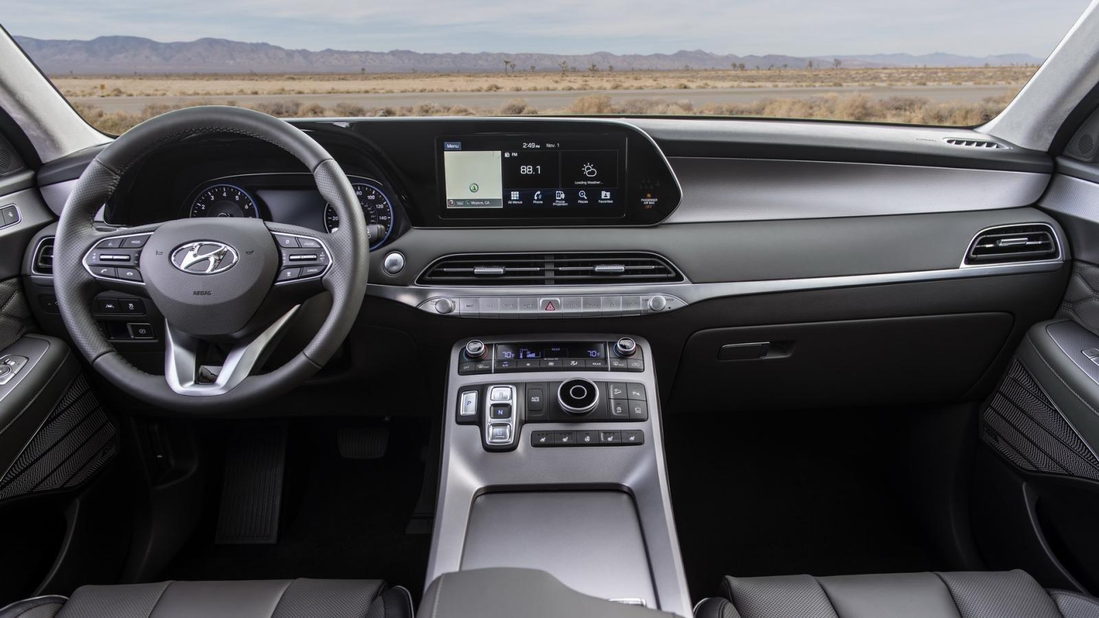 Nhìn nhanh thông số xe Hyundai Palisade và Santa Fe 2019 a5